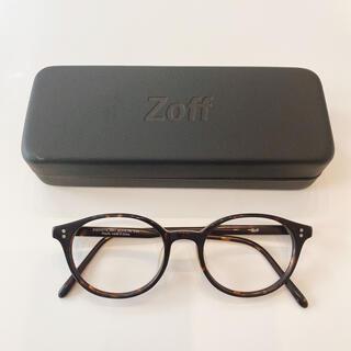 Zoff - 【Zoff/ゾフ】 眼鏡 メガネ べっ甲フレーム+ケース