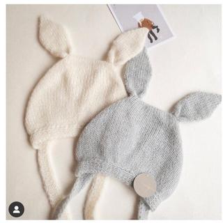 コドモビームス(こども ビームス)のバンボリーナ Bunny gray12-24(帽子)