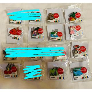 コカ・コーラ - 東京五輪 コカコーラ記念ピンバッジ 16個セット 被りなし 新品 送料込み
