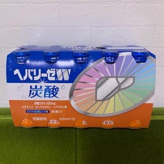 ゼリア新薬工業 ヘパリーゼW 炭酸10本(ビタミン)