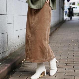 ローリーズファーム(LOWRYS FARM)のLOWRYSFARM  コーデュロイタイトスカート(ひざ丈スカート)