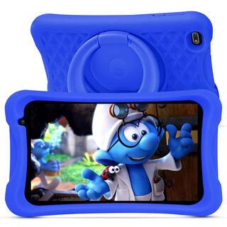 キッズタブレット 8インチ ブルー オンライン授業 子供用(タブレット)
