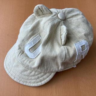 ブリーズ(BREEZE)のBREEZE くまさんロゴベビーハット(帽子)