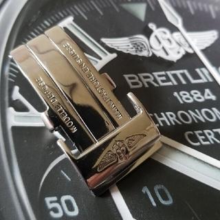 ブライトリング(BREITLING)の20mm!BREITLING ブライトリング Dバックル レザーベルト(その他)