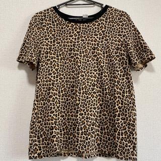 豹柄Tシャツ