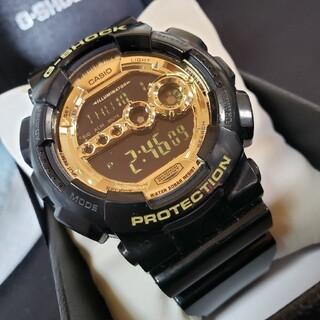 ジーショック(G-SHOCK)の元箱付 CASIO カシオ G-shock Gショック GD-100GB 時計(その他)
