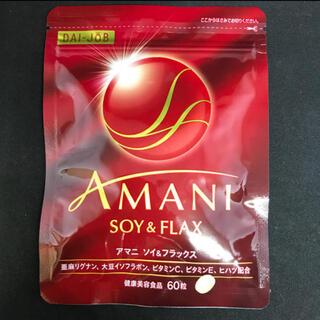 AMANI アマニ ソイ&フラックス 60粒(その他)