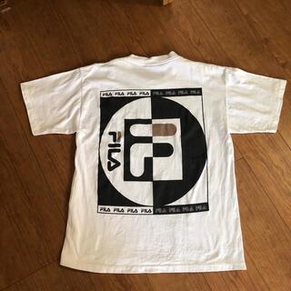 フィラ(FILA)のヴィンテージ フィラ アメリカ製 Tシャツ(Tシャツ/カットソー(半袖/袖なし))