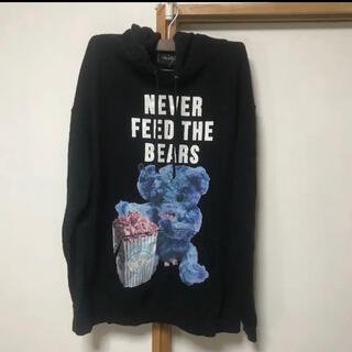 ミルクボーイ(MILKBOY)のミルクボーイ  never feed the bear パーカー(パーカー)