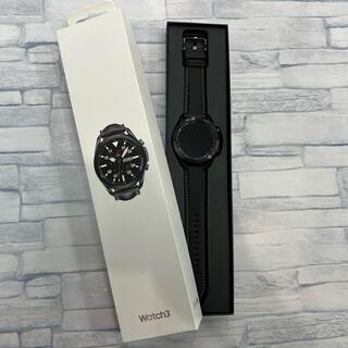 ギャラクシー(Galaxy)のGalaxy Watch3 (45mm、ブラック、日本国内版)(腕時計(デジタル))