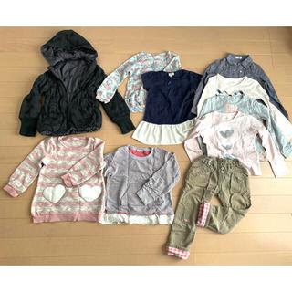 Branshes - 子ども服 おまとめ売り 冬 女の子 120 130