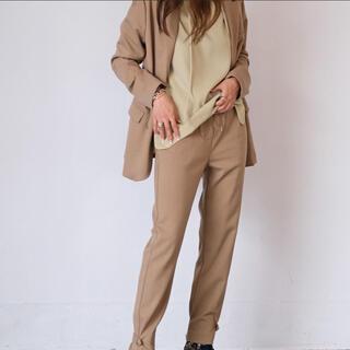 アクテ ヘムデザイン パンツ ジャケット セットアップ AKTE 2点セット(テーラードジャケット)
