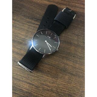 ダニエルウェリントン(Daniel Wellington)の【稼働中】DWの腕時計 ダニエル ウェリントン(腕時計(デジタル))