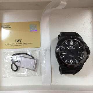 IWC - IWC インヂュニア  AMG  ブラック ラバー IW322503