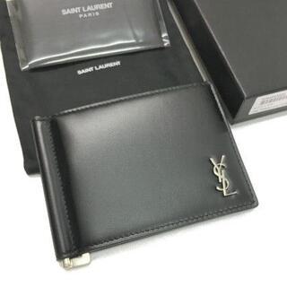 サンローラン(Saint Laurent)の新品 Saint Laurent ロゴ マネークリップ ウォレット 財布(折り財布)