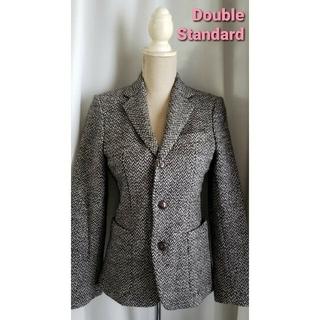 ダブルスタンダードクロージング(DOUBLE STANDARD CLOTHING)の未使用品レベル ダブルスタンダード 男前なテーラードジャケット ウール(テーラードジャケット)