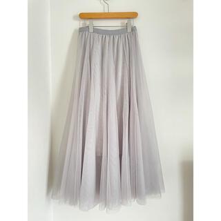 ミッシュマッシュ(MISCH MASCH)のチュールスカート (ロングスカート)
