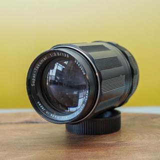 ペンタックス(PENTAX)の 【美品】望遠タクマー Super Takumar 135mm f3.5 (レンズ(ズーム))