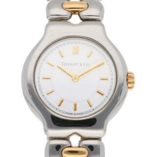 Tiffany & Co. - 【中古】ティファニー TIFFANY&Co. 腕時計  ステンレススチール