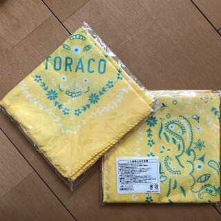ハンシンタイガース(阪神タイガース)の阪神タイガース TORACOバンダナ2枚セット(応援グッズ)