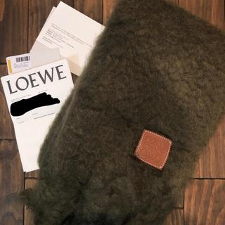 LOEWE - LOEWE モヘア ストール