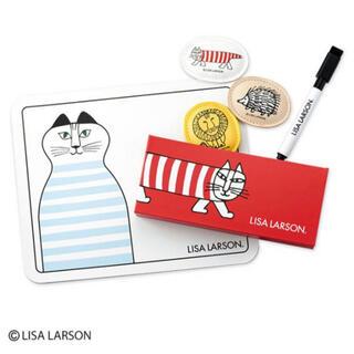 リサラーソン(Lisa Larson)のLISA LARSON マイキーと仲間たちのマグネット6点セット(小物入れ)