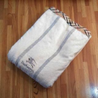 バーバリー(BURBERRY)のゆう様専用 バーバリー 敷毛布 シーツ毛布 敷き布団(毛布)