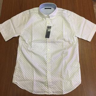 RAGEBLUE - RAGEBLUE OXドットシャツ半袖 M