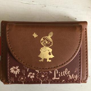 リトルミー(Little Me)のリトルミー 財布 ミニパース ブラウン ムーミン(財布)