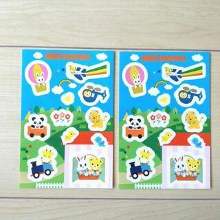 ミキハウス(mikihouse)のミキハウス シールステッカー 2枚セット MIKIHOUSE(シール)