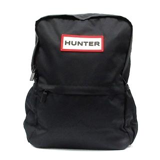ハンター(HUNTER)のハンター HUNTER リュックサック デイパック ロゴ ナイロン 黒(リュック/バックパック)