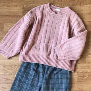 ローリーズファーム(LOWRYS FARM)のLOWRYS FARM(ローリーズファーム)モール素材セーター(ニット/セーター)