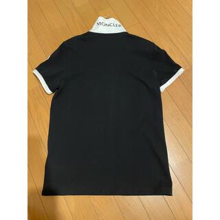 MONCLER - 神戸大丸モンクレール購入 国内正規品 ポロシャツ S 美品