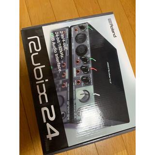 ローランド(Roland)の【美品】ROLAND Rubix24 USBオーディオインターフェイス(オーディオインターフェイス)