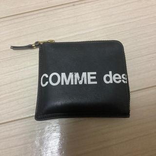 COMME des GARCONS - コムデギャルソン COMME des GARÇONS 黒 財布 ロゴ L字 ミニ