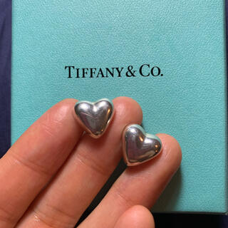 ティファニー(Tiffany & Co.)のレア!ヴィンテージ オールド ティファニー Tiffany ハート  ピアス(ピアス)