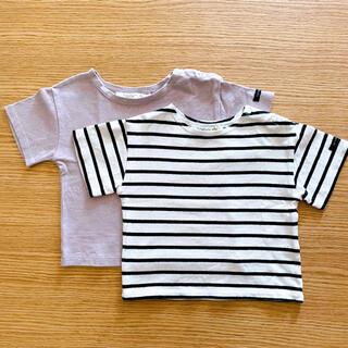 フタフタ(futafuta)の《futafuta》Tシャツ 2枚セット 80サイズ(Tシャツ)