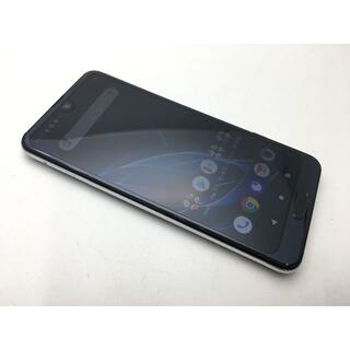 シャープ(SHARP)のSIMフリー美品au AQUOS R2 SHV42 ブラック250(スマートフォン本体)