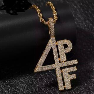 アヴァランチ(AVALANCHE)の4PF ネックレス Lil Baby ブリンブリン アヴァランチ ヒップホップ(ネックレス)