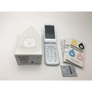 シャープ(SHARP)のソフトバンクPANTONE WATERPROOF 202SH白 未使用品252(携帯電話本体)