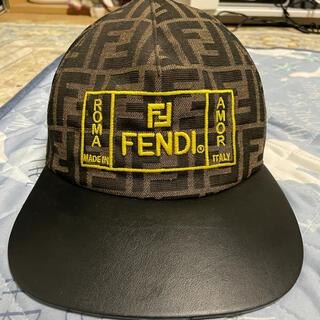 フェンディ(FENDI)のフェンディ キャップ メイウェザー着用モデル 滅多に中古に出ません(キャップ)