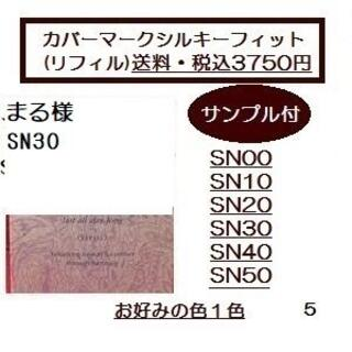 カバーマーク(COVERMARK)のまる様 シルキーフィットリフィル SN30 (ファンデーション)