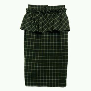 ハニーミーハニー(Honey mi Honey)のハニーミーハニー♡ペプラムスカート(ひざ丈スカート)