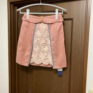 リリーブラウン(Lily Brown)のリリーブラウン ミニスカート ピンク(ミニスカート)