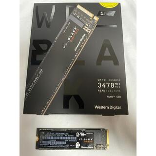 WD Black SN750 NVMe WDS100T3X0C(PCパーツ)