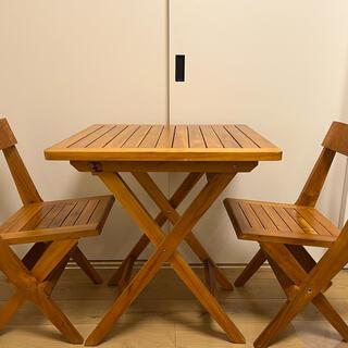 unico - ウニコの折りたたみテーブルセット