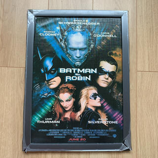 ディーシー(DC)のバットマン 額入り ポスター 洋画 Mr.フリーズ DVD グッズ(印刷物)