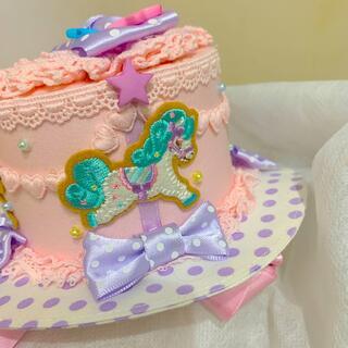 アンジェリックプリティー(Angelic Pretty)の新品 アンジェリックプリティ ミニハット 帽子 ヘッドドレス(ハット)