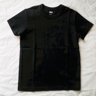 UNIQLO - Uniqlo U クルーネックTシャツ 黒 無地