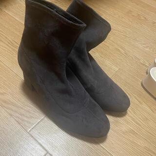 ユニクロ(UNIQLO)のユニクロ ショートブーツ(ブーツ)